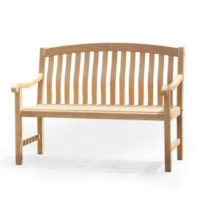 Colton Teak Wood Outdoor Bench