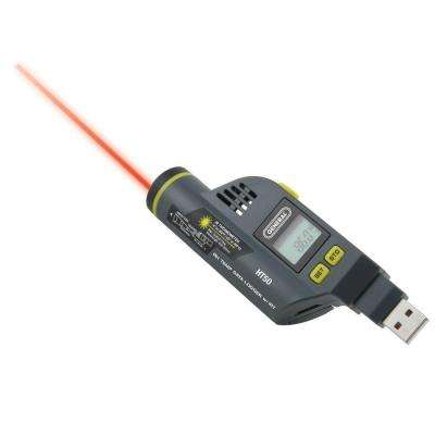 Relative Humidity Data Logger with Built-in Laser Temperature Infrared Thermometer and LCD Display