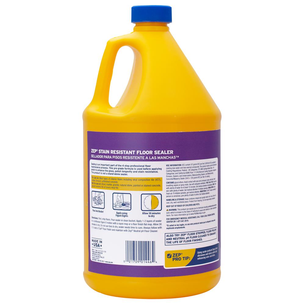 Zep 1 Gal Stain Resistant Floor Sealer
