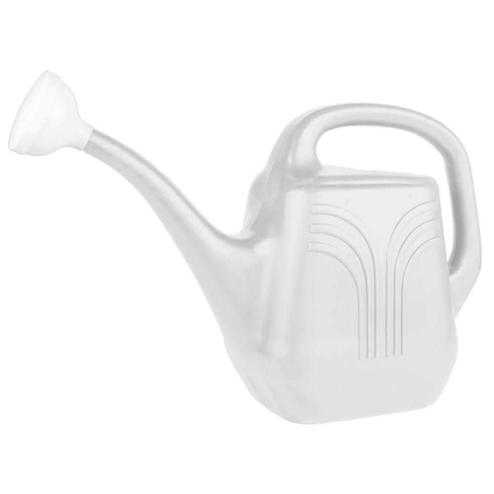 Classic 2 Gal. Casper White Plastic Watering Can