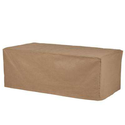 Essential 49 in. W x 26 in. D x 18 in. H Latte Rectangular Coffee Table Cover