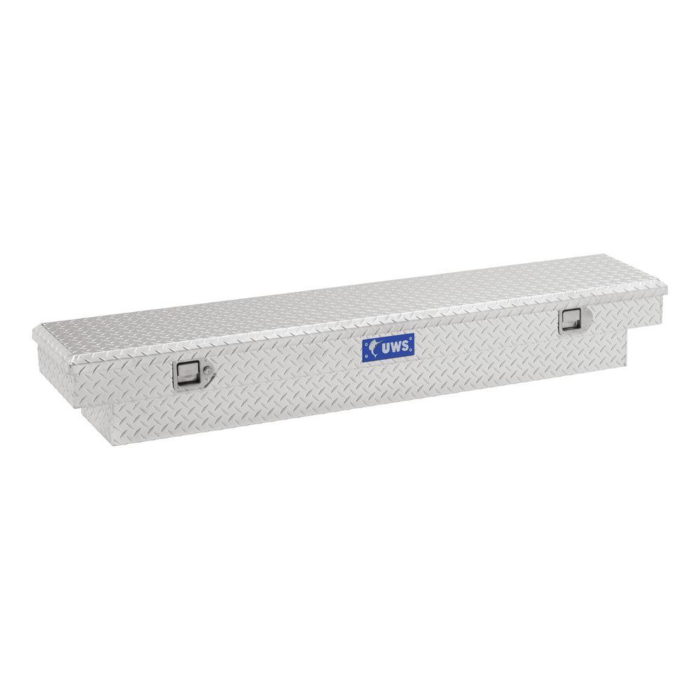 63 in. Aluminum Single Lid Crossover Slim Line Tool Box