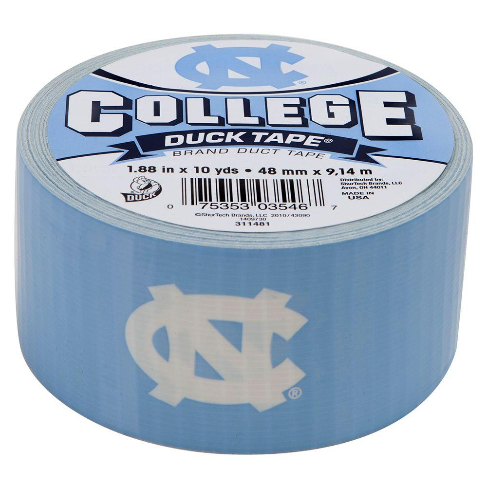 College 1-7/8 in. x 10 yds. University of North Carolina Duct