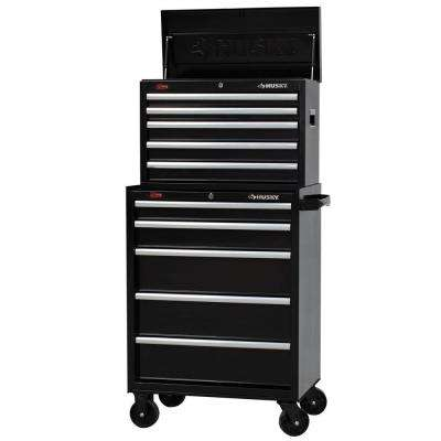 27 in. W 10-Drawer Tool Chest and Cabinet Set