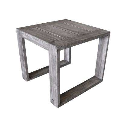 North Shore Collection Teak Outdoor Side Table