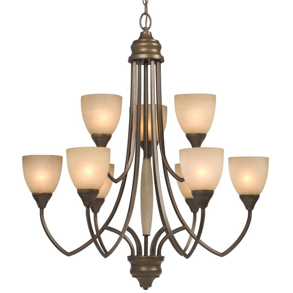 Filament design negron 9 light tuscany incandescent chandelier cli filament design negron 9 light tuscany incandescent chandelier aloadofball Images
