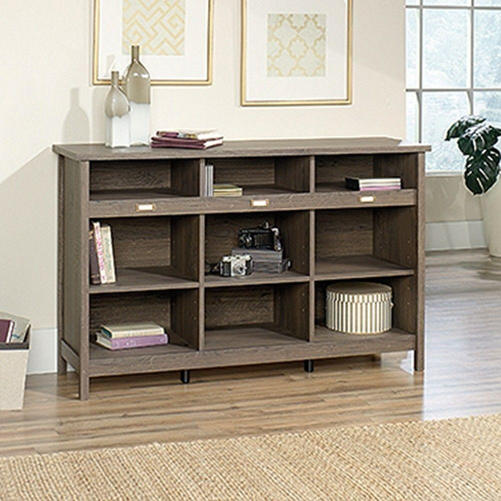 Sauder adept fossil oak storage furniture 418565 the home depot geotapseo Image collections