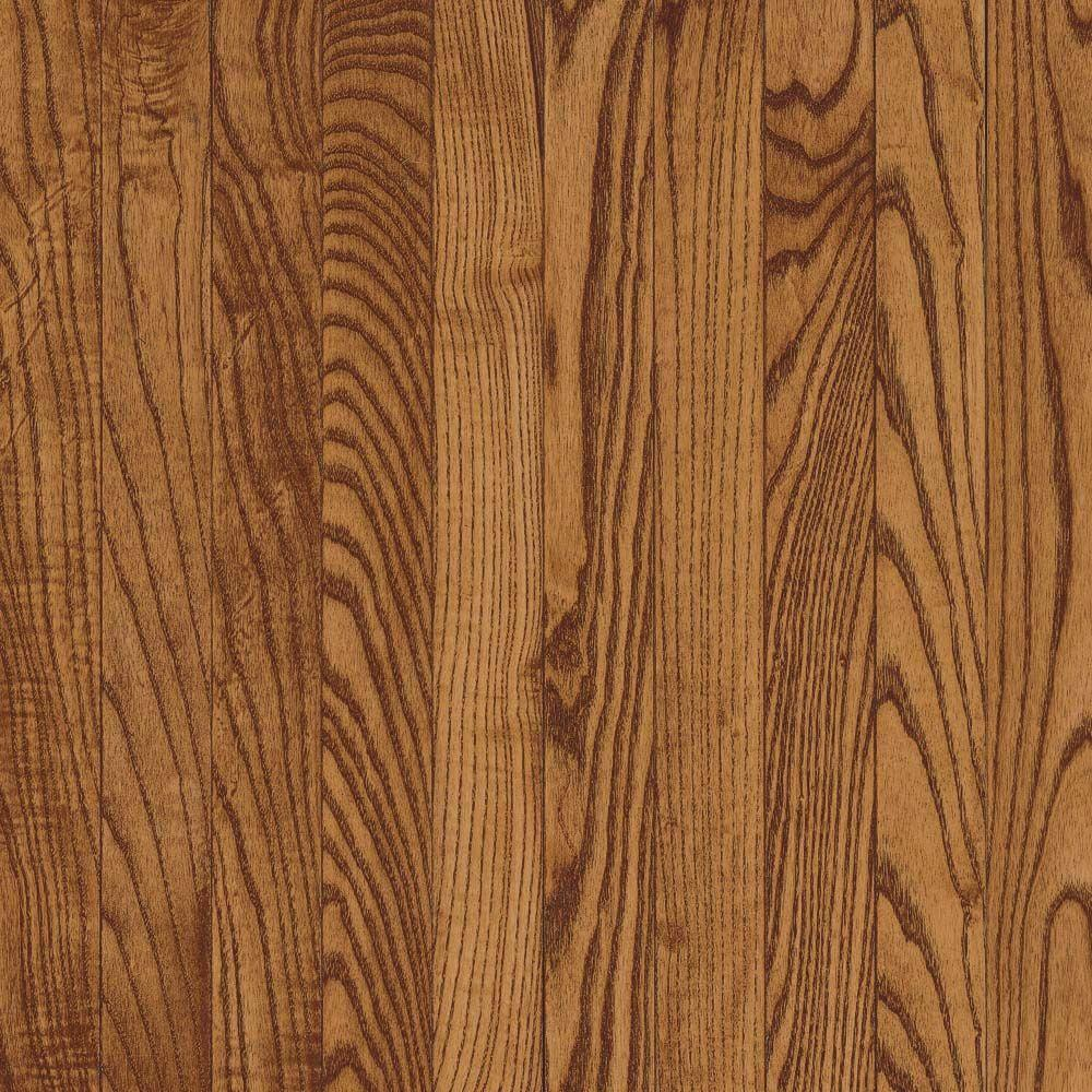 Bruce Oak Saddle Solid Hardwood Flooring - 5 in. x 7 in. Take Home Sample