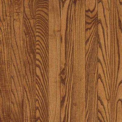 Oak Saddle Solid Hardwood Flooring - 5 in. x 7 in. Take Home Sample