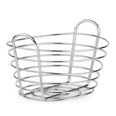 Chrome Fruit Basket