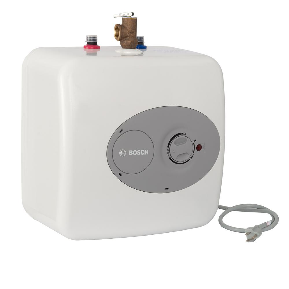 Bosch 25 Gal Electric Point Of Use Water Heater Es The Home How To Turn Up A