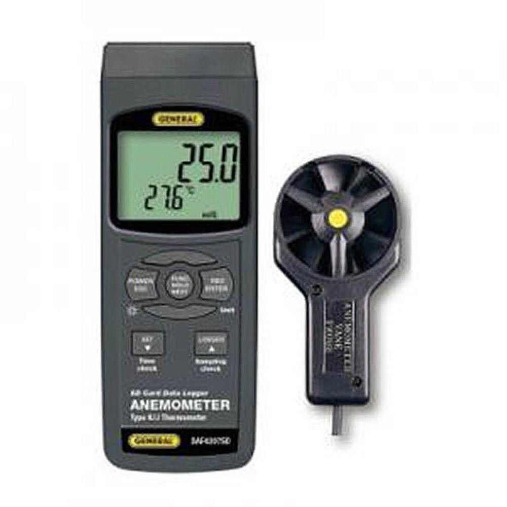 Data Logging Anemometer-Thermometer with Metal Impeller