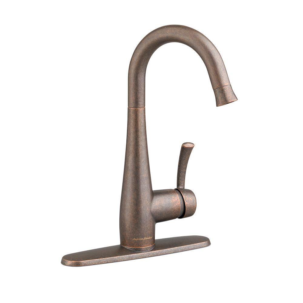 Quince Single-Handle Bar Faucet in Oil Rubbed Bronze