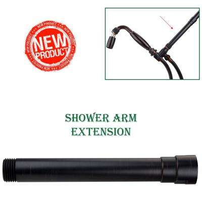 Exclusive 6 in. Solid Metal Shower Arm Extension in Oil Rubbed Bronze