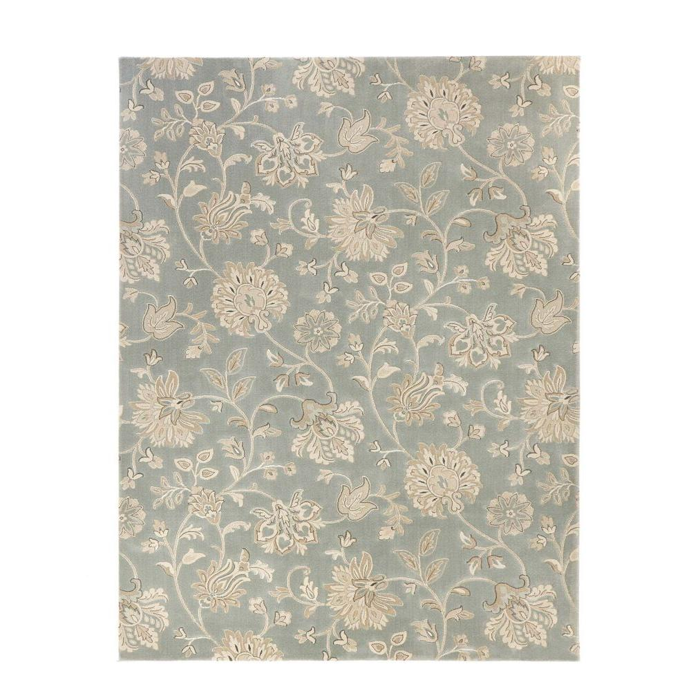 Home decorators collection aileen blue 3 ft 11 in x 6 ft for Home decorators rugs blue