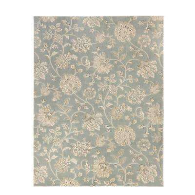 Aileen Blue 3 ft. 11 in. x 6 ft. Area Rug