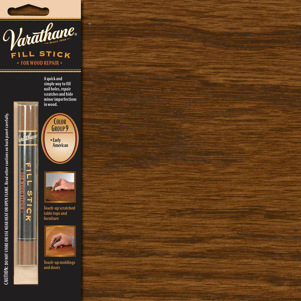 Varathane 3 5 Oz Flat Color Group 9 Fill Stick 215370