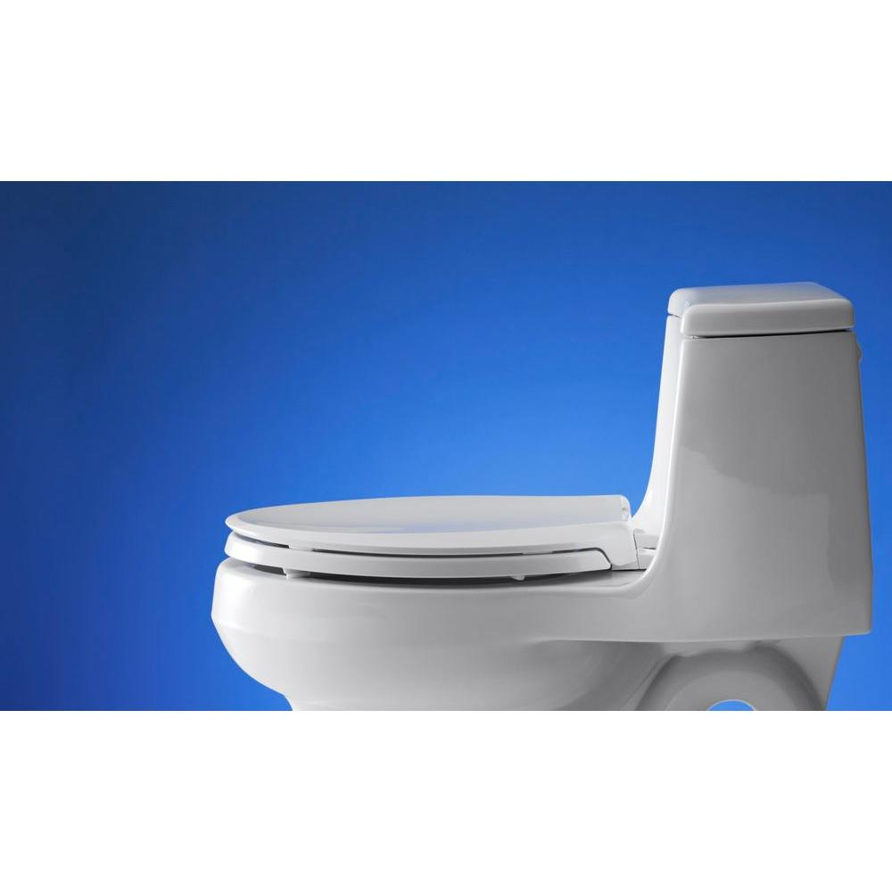 Kohler Cachet Elongated Toilet Bowl Seat Quiet Close Lid