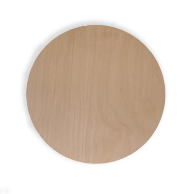 1/4 in. x 1 ft. Birch Circle Specialty Panel