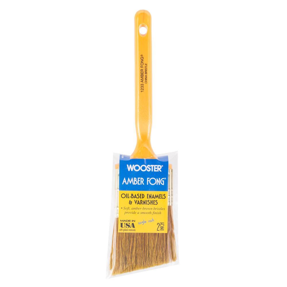 2 in. Amber Fong Angle Sash Bristle Brush
