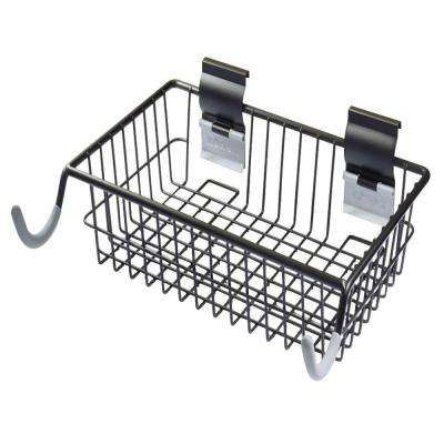 Slatwall Bike Hook and Basket Combo