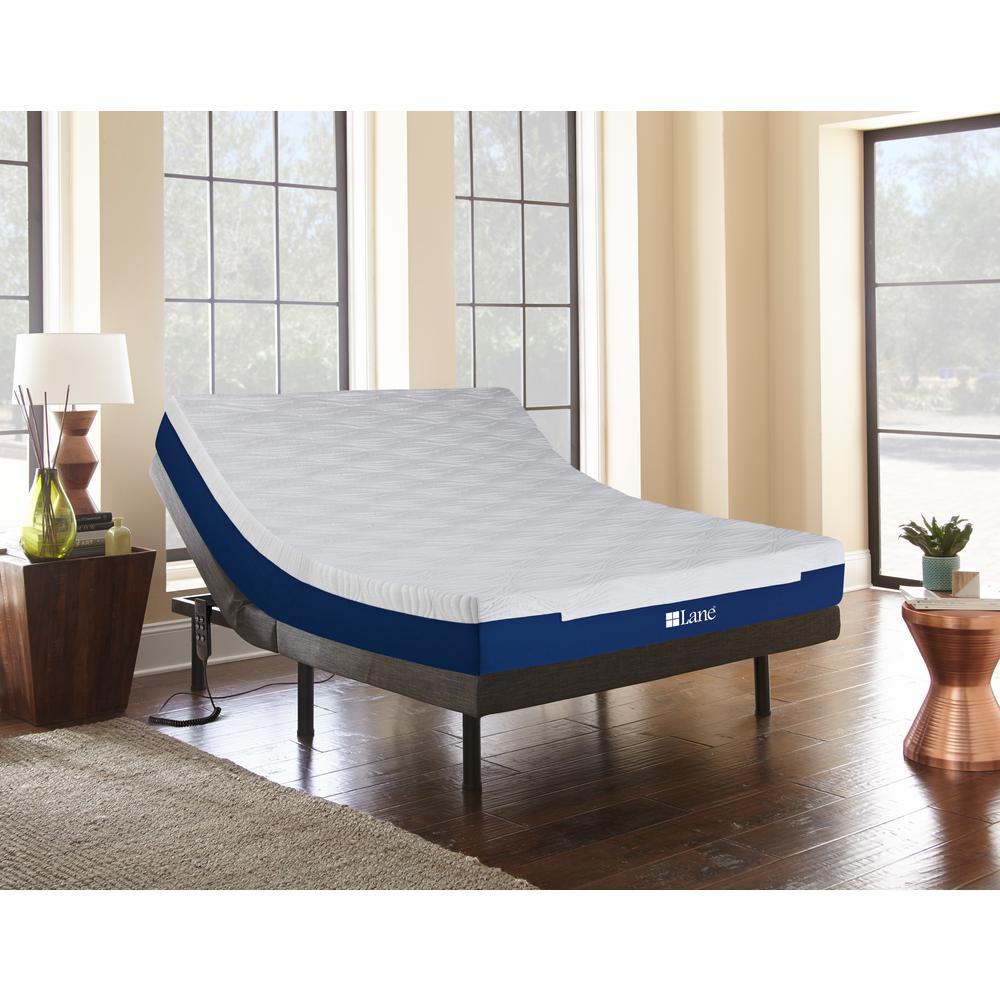 Lane Bed Base White Blue Black