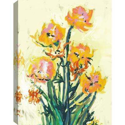 Rosy Bouquet Canvas Print by ArtMaison Canada