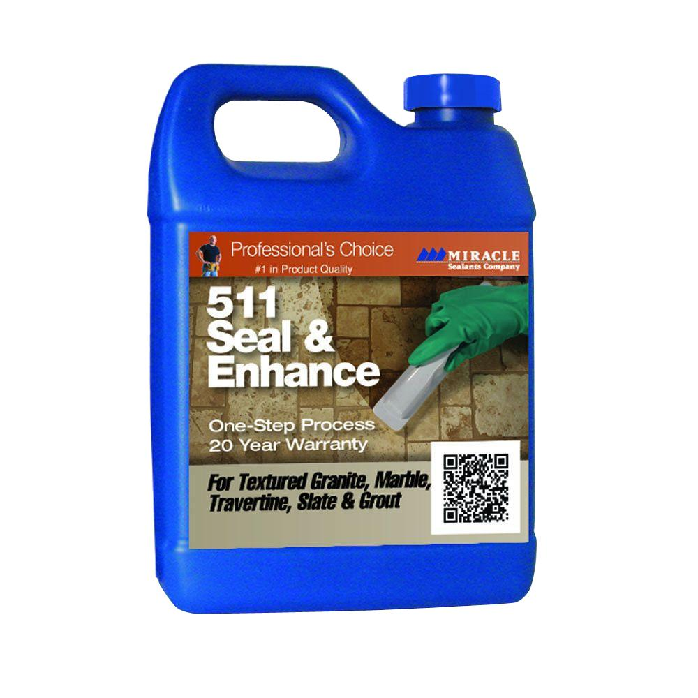 Miracle Sealants 32 fl. oz. 511 Seal and Enhance Stone Sealer and Enhancer