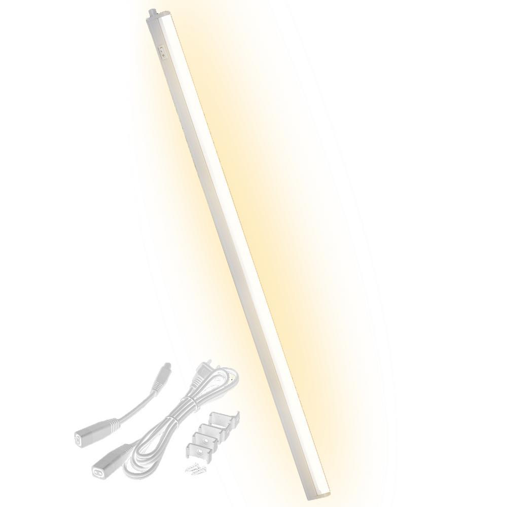 Under Cabinet Linkable T5 Light Bar - Ultra Slim, Cool-Touch Design - Great Kitchen Lighting