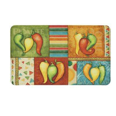 Pepper Collection 18 in. x 30 in. Kitchen Mat
