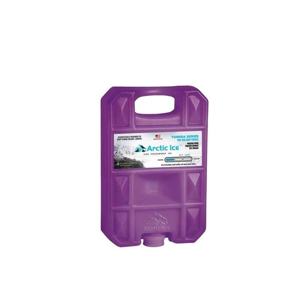 Tundra Series Lunch Box Size Freezer Pack (+5 Degrees F),  Purple