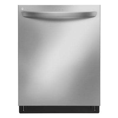 Top Control Tall Tub Smart Dishwasher with 3rd Rack and WiFi Enabled in Stainless Steel with Stainless Steel Tub