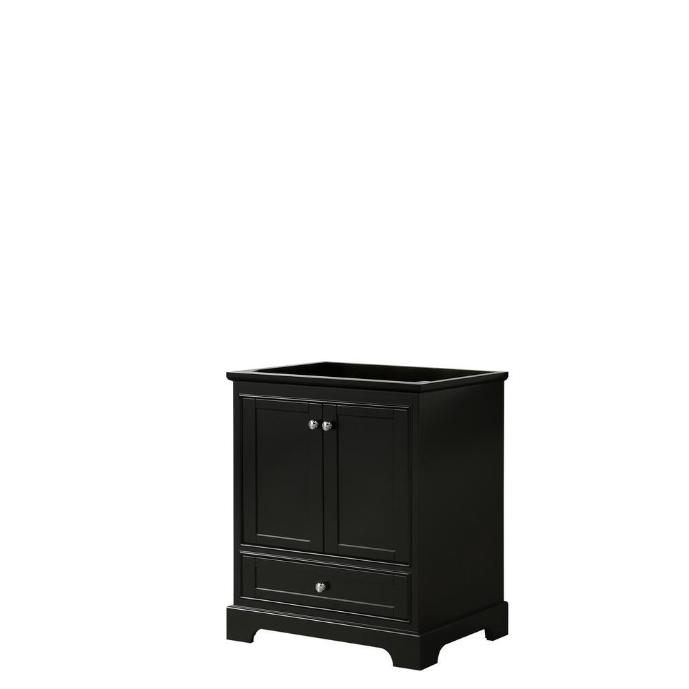 Deborah 29.25 in. Single Bathroom Vanity Cabinet Only in Dark Espresso
