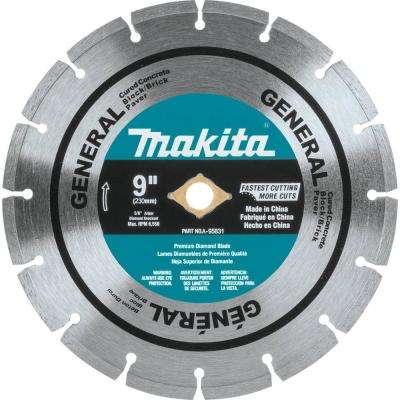 9 in. Diamond Blade Segmented General Purpose