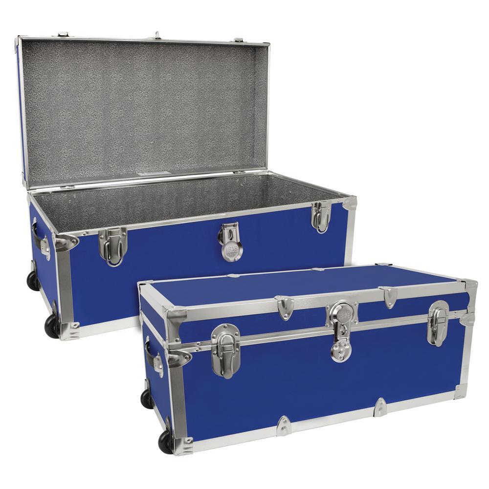Modern Collection Blue Storage Trunk