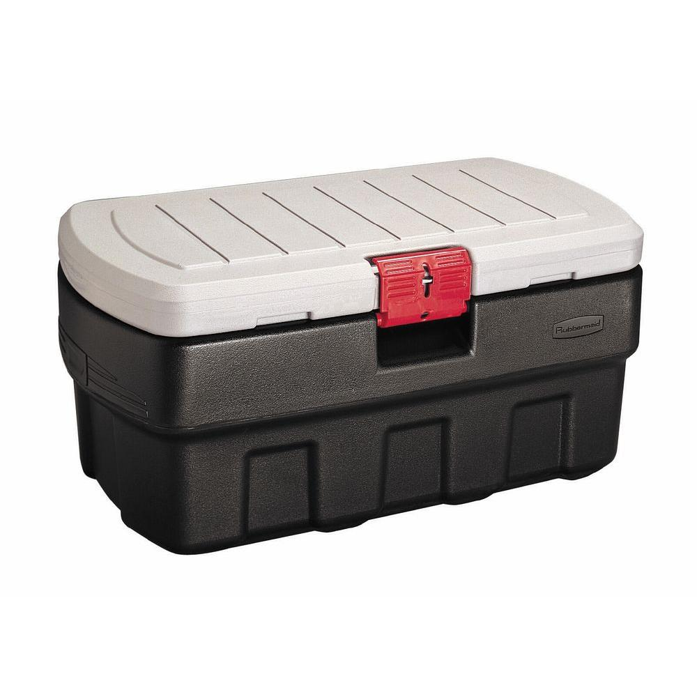 Rubbermaid 35 Gal Action Packer Storage Tote RMAP350000 The Home