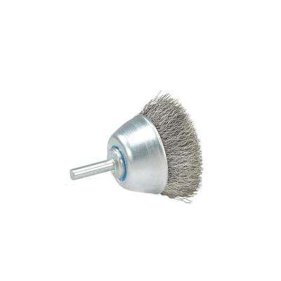 2-3/8 in. Mounted Brush with Crimped Wires