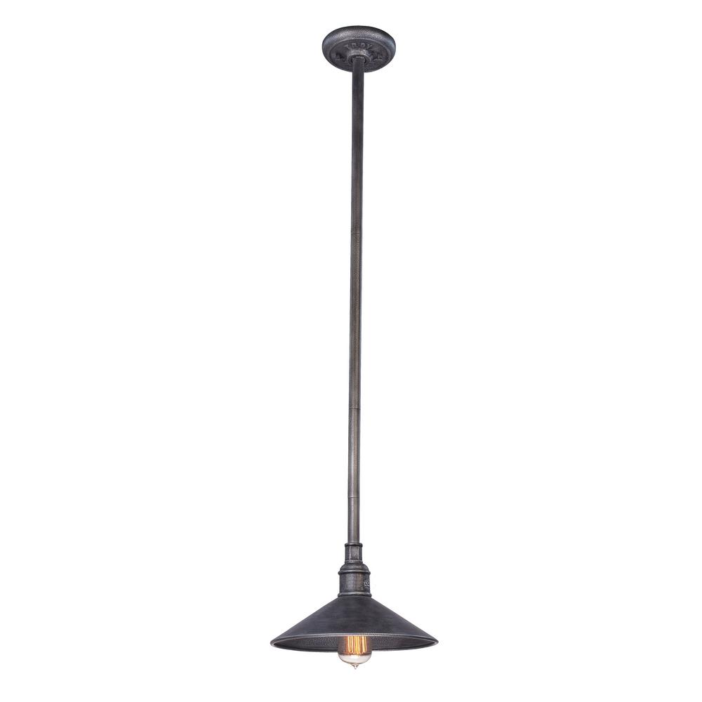 troy lighting toledo 1 light old silver outdoor hanging pendant