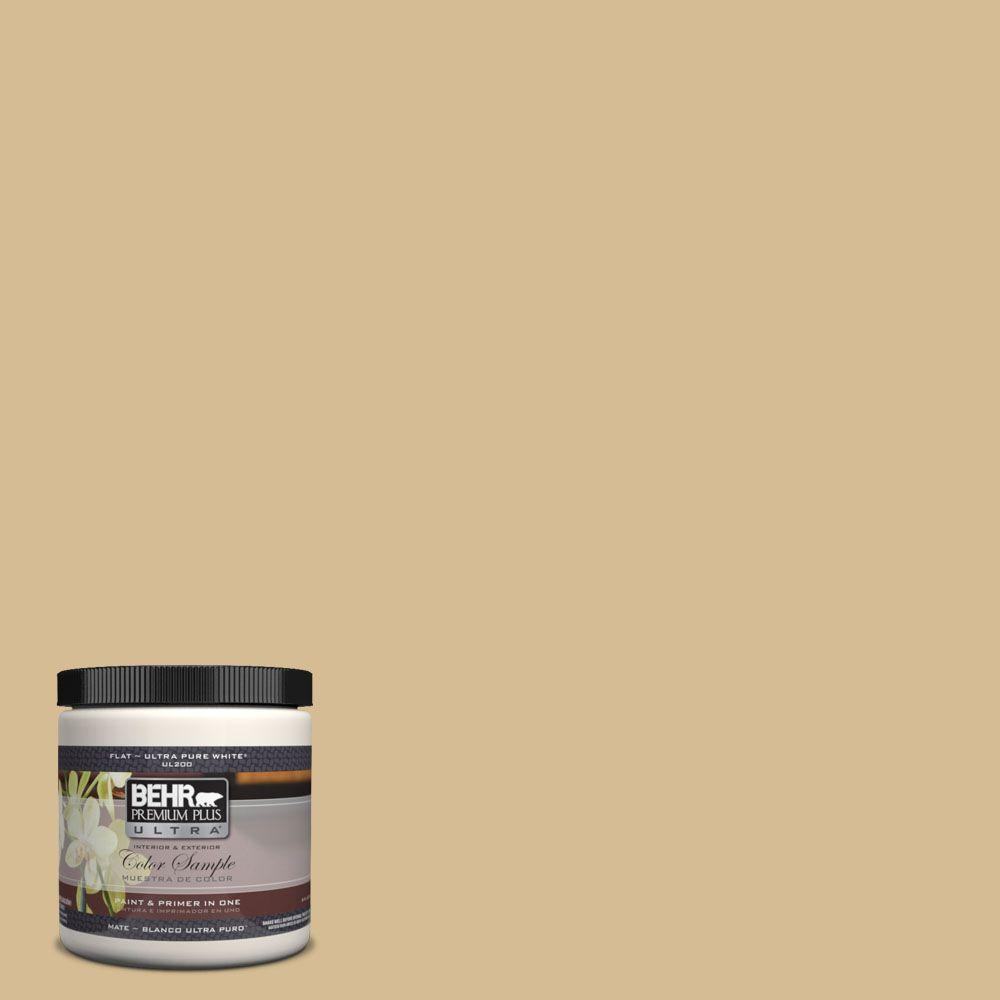 BEHR Premium Plus Ultra 8 oz. #330F-4 Pebble Path Interior/Exterior Paint Sample