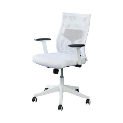 Ronde White Mesh Office Chair