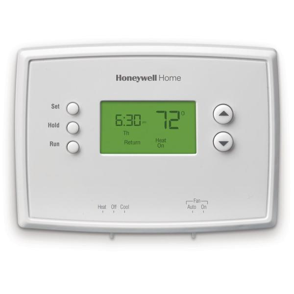 5-2 Day Programmable Thermostat with Digital Backlit Display