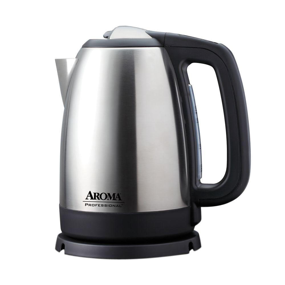 Aroma 7 Cup Digital Electric Kettle Awk 299sd The Home Depot