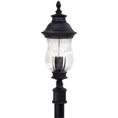 Newport 3-Light Outdoor Heritage Post Mount