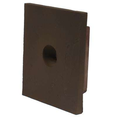 8 in. x 9 in. Sandstone Brown Small Universal Mounting Block