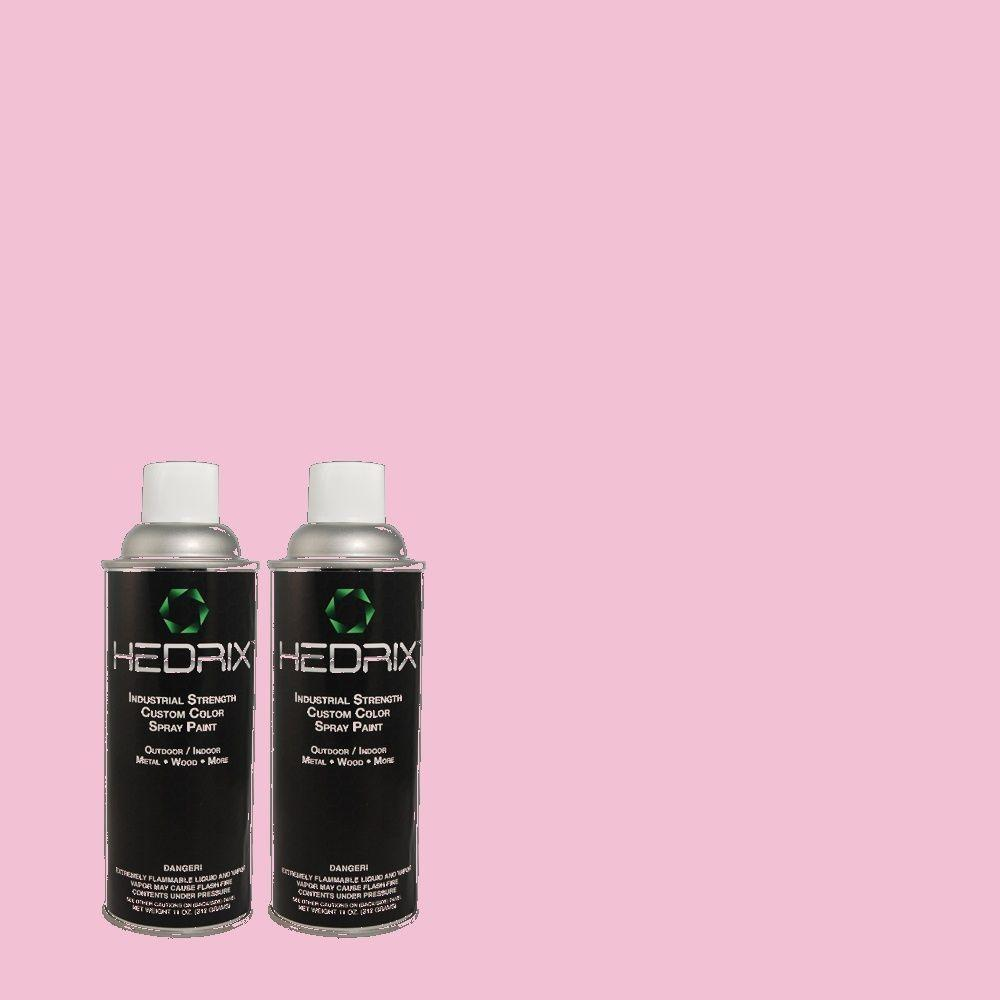 Hedrix 11 oz. Match of 690A-3 Sweet Taffy Low Lustre Custom Spray Paint (2-Pack)