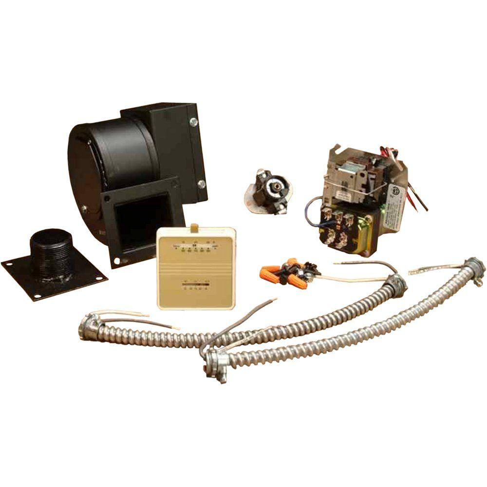 US Stove Draft Induction Kit for Furnaces
