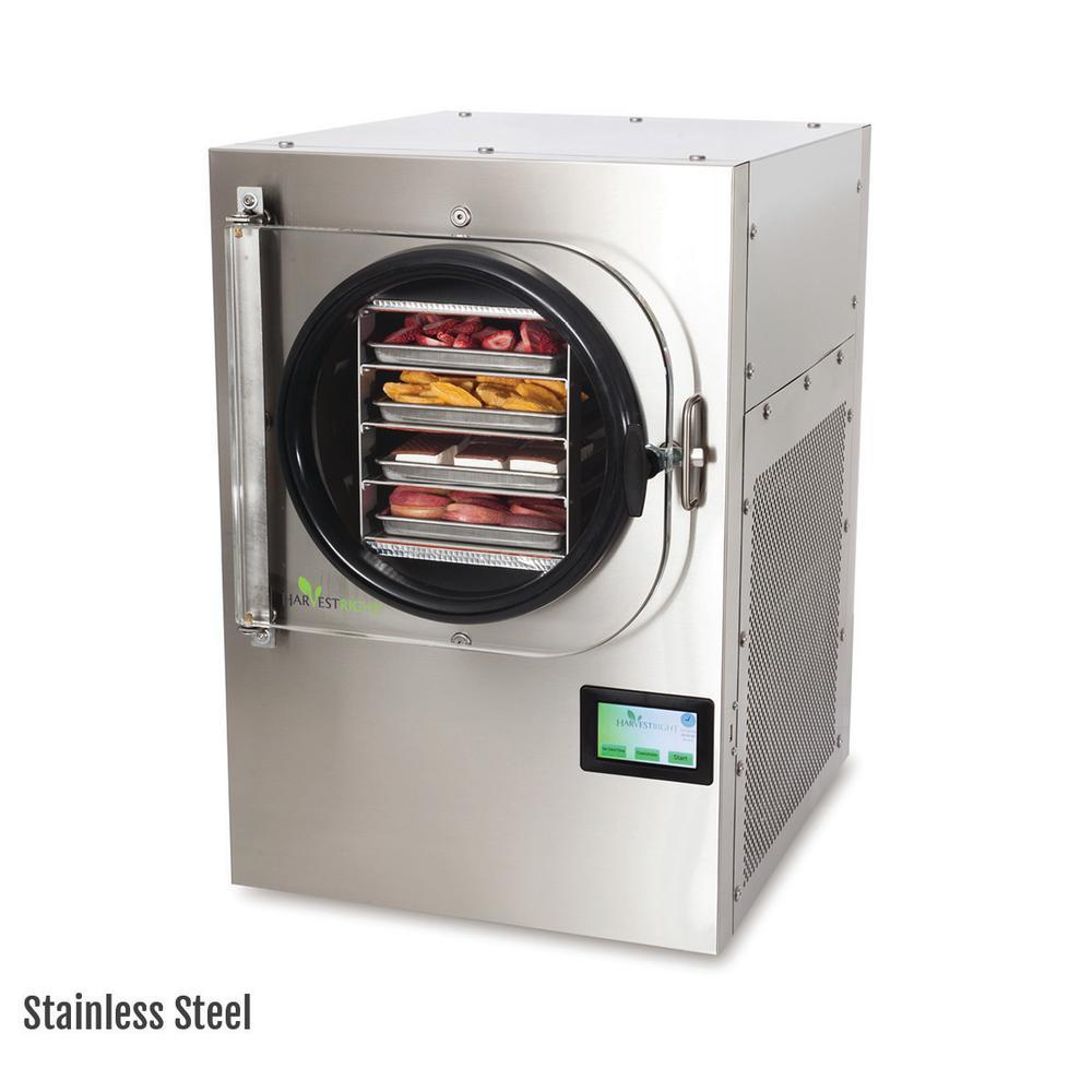 Medium Freeze Dryer Stainless Steel with Mylar Starter Kit