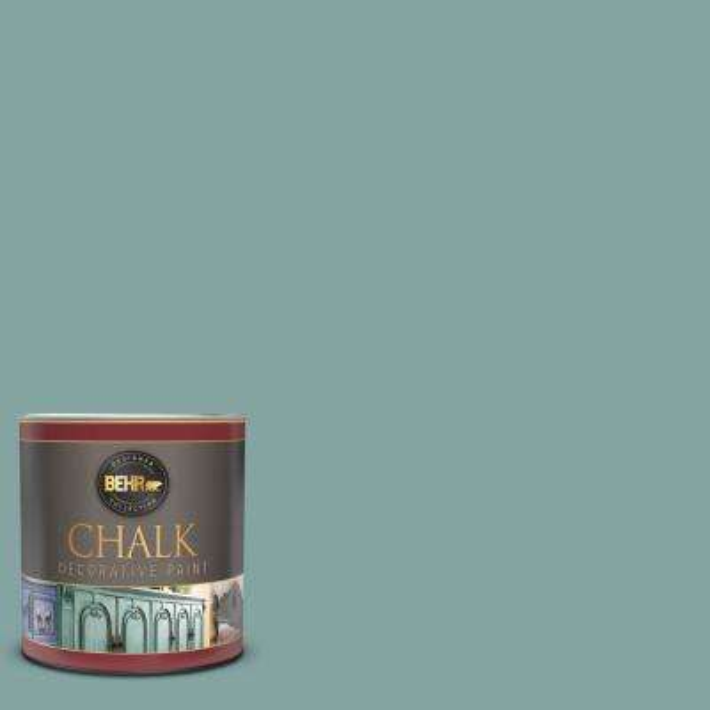 1 qt. #PPU13-08 Venus Teal Interior Chalk Decorative Paint