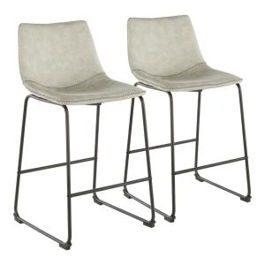Lumisource Duke 25 In Industrial Counter Stool With Light