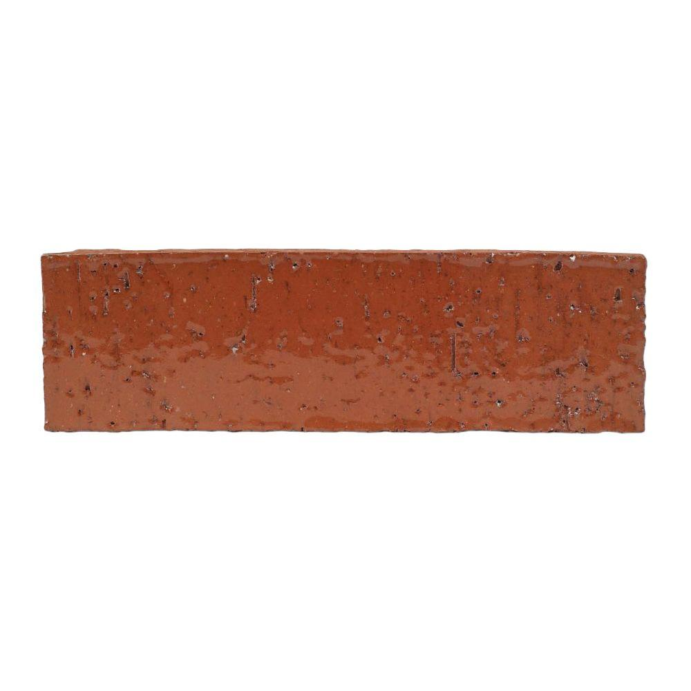 null Gran Brique Lucent 7.63 in. x 0.63 in. x 2.25 in. Glazed Clay Brick-DISCONTINUED